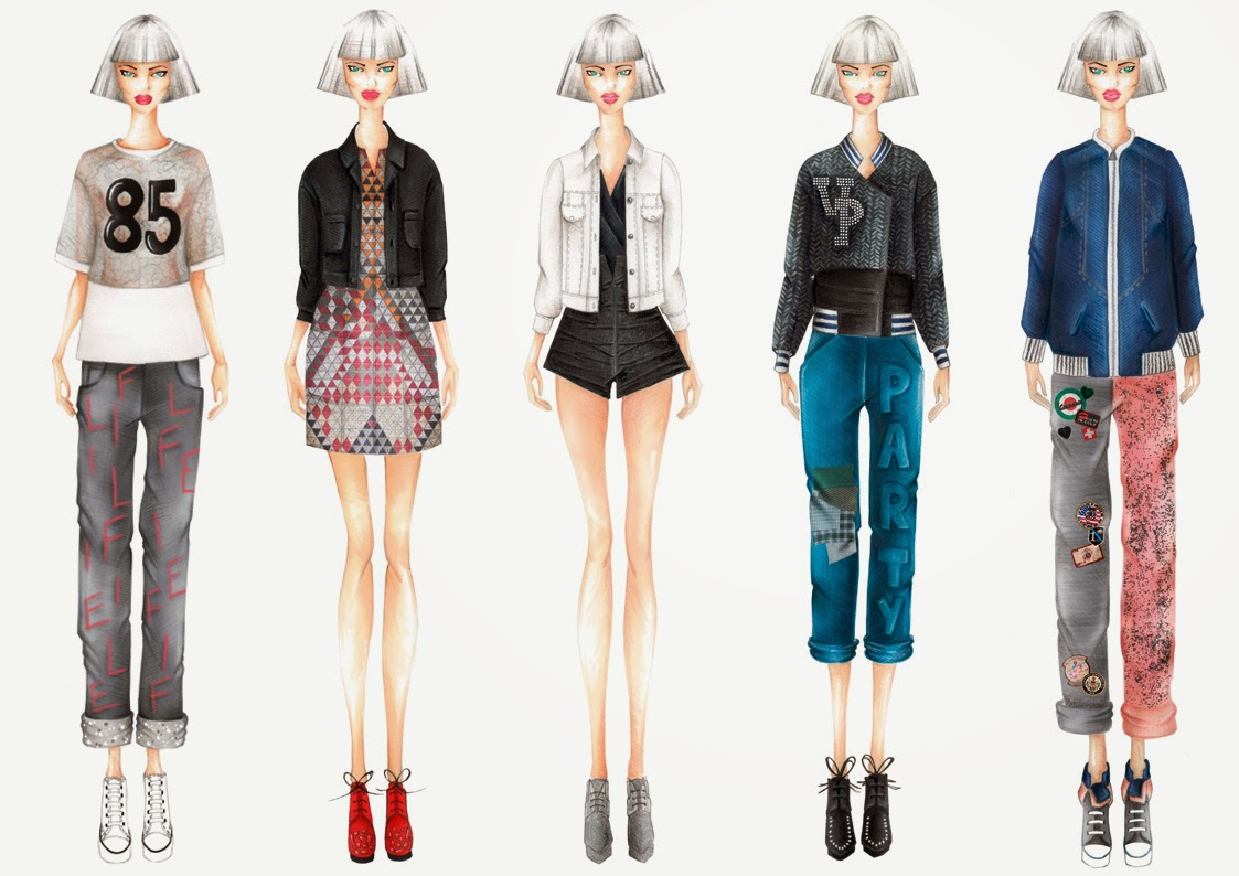 Popolare Valentina Poltronieri Fashion Blog: DISEGNI DI MODA DX51