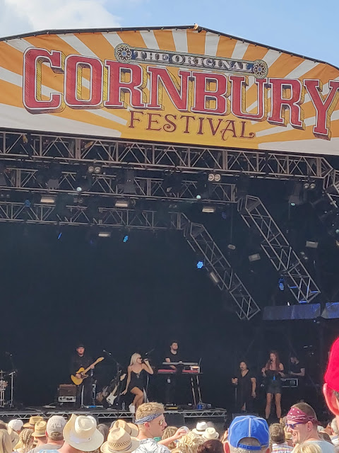 Pixie Lott at Cornbury Music Festival