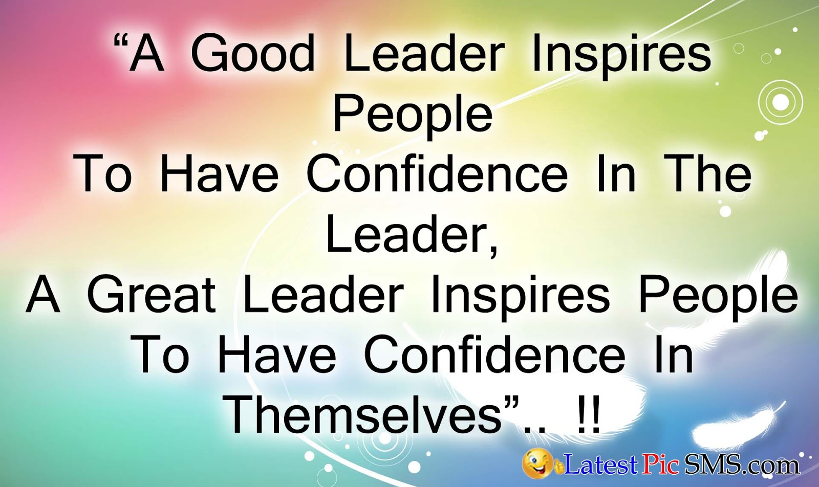 leader inspire english sms - SMS of The Day in English with Pictures for Whatsapp & Facebook