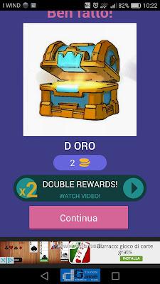 Indovina la carta Royale soluzione livello 39