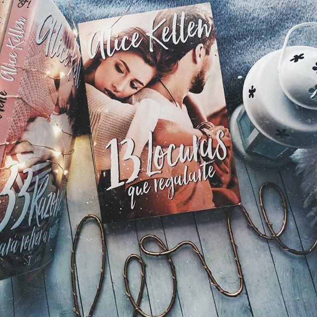 Foto del libro 13 locuras que regalarte de la autora Alice Kellen y la editorial Titania