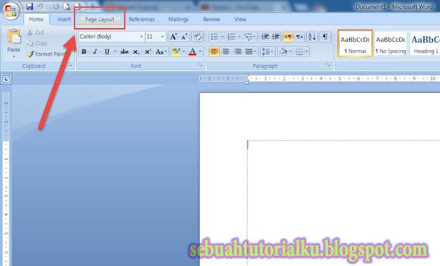 Mengatur Ukuran Kertas Di Microsoft Word