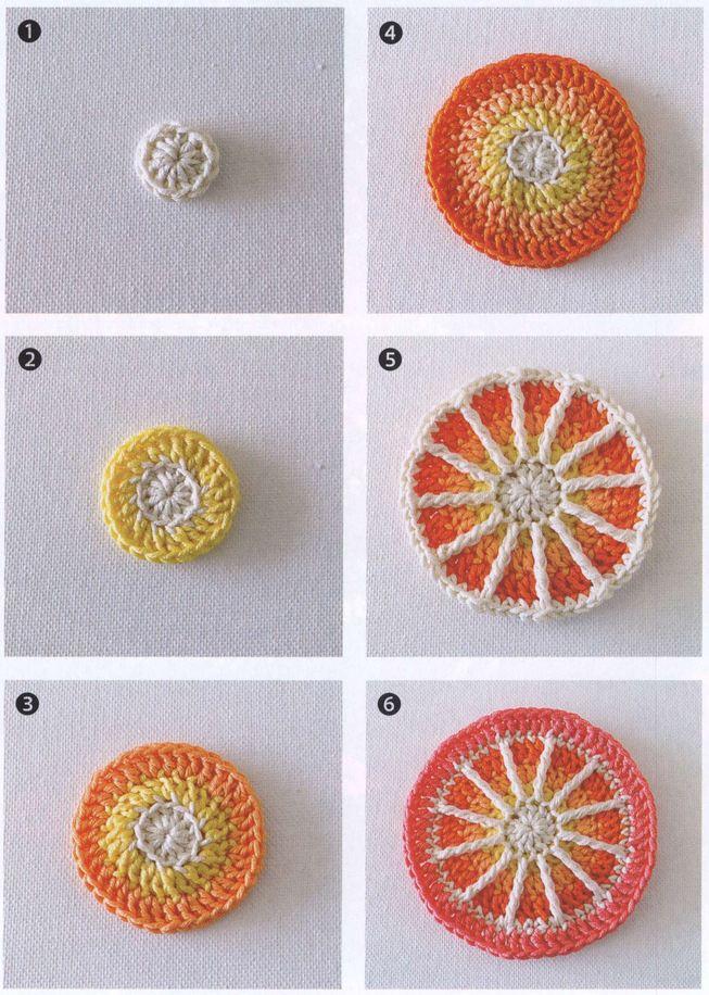 Cómo tejer una Mandala paso a paso en fotos | Paso a Paso