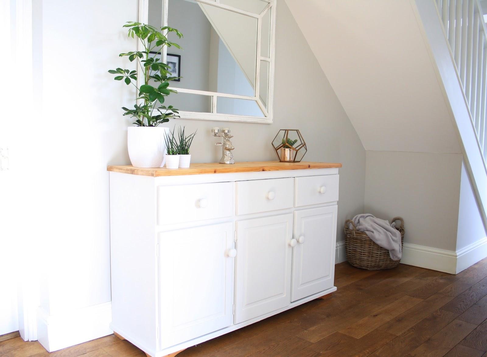 Grey Hallway Welsh Dresser