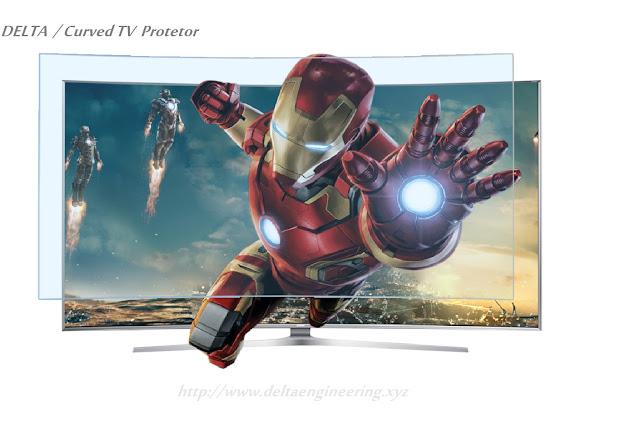 غطاء حماية شاشة تلفزيون 47 بوصة