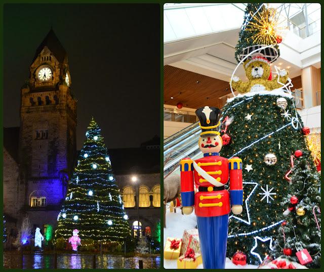 Sapins de Noël à Metz