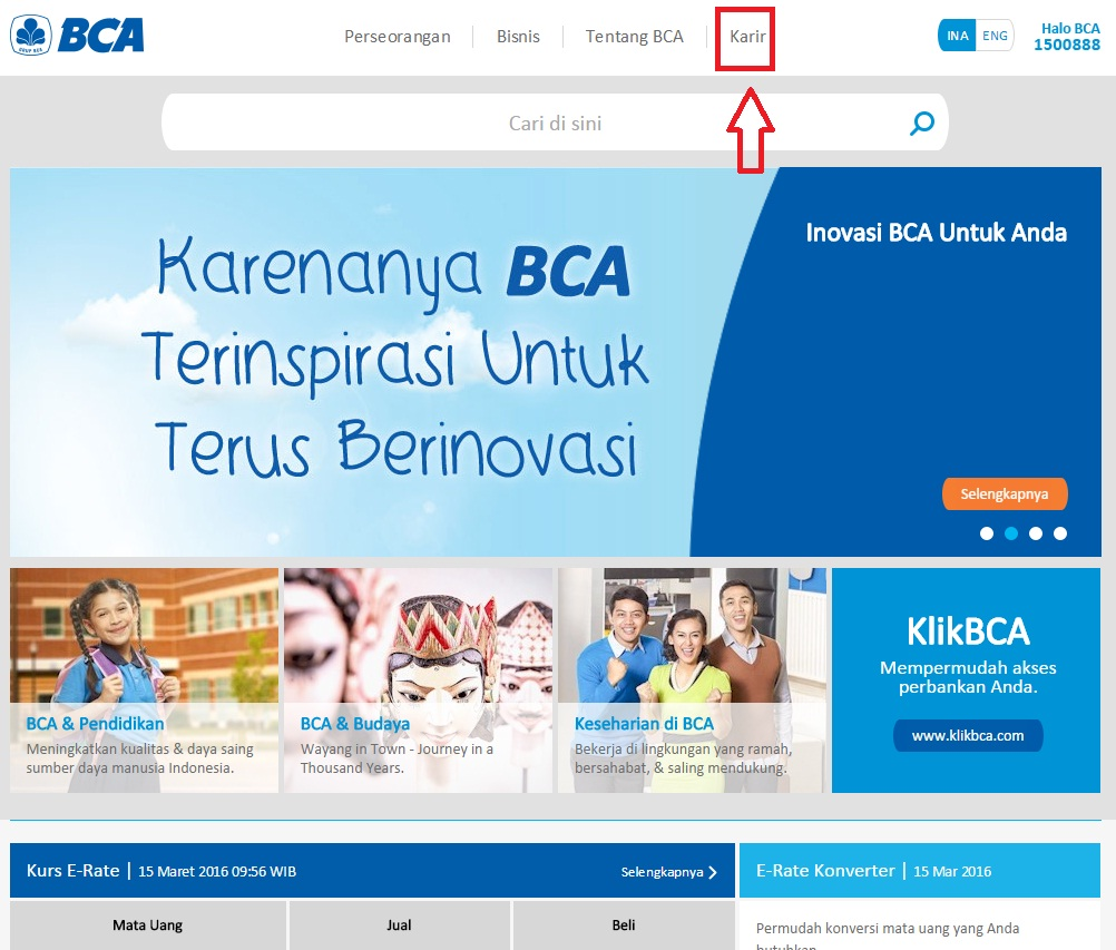 Cara Melamar Kerja di Bank BCA Untuk Lulusan SMA/SMK ...
