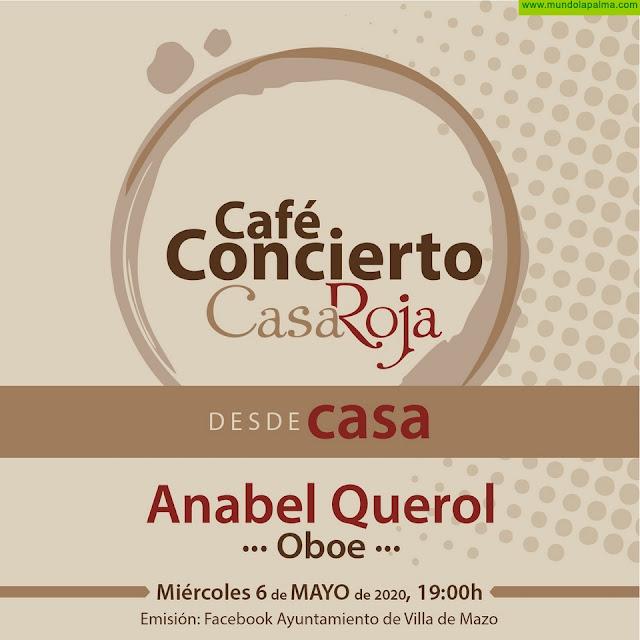 Anabel Querol y su oboe llegan al ciclo Café-Concierto desde Casa