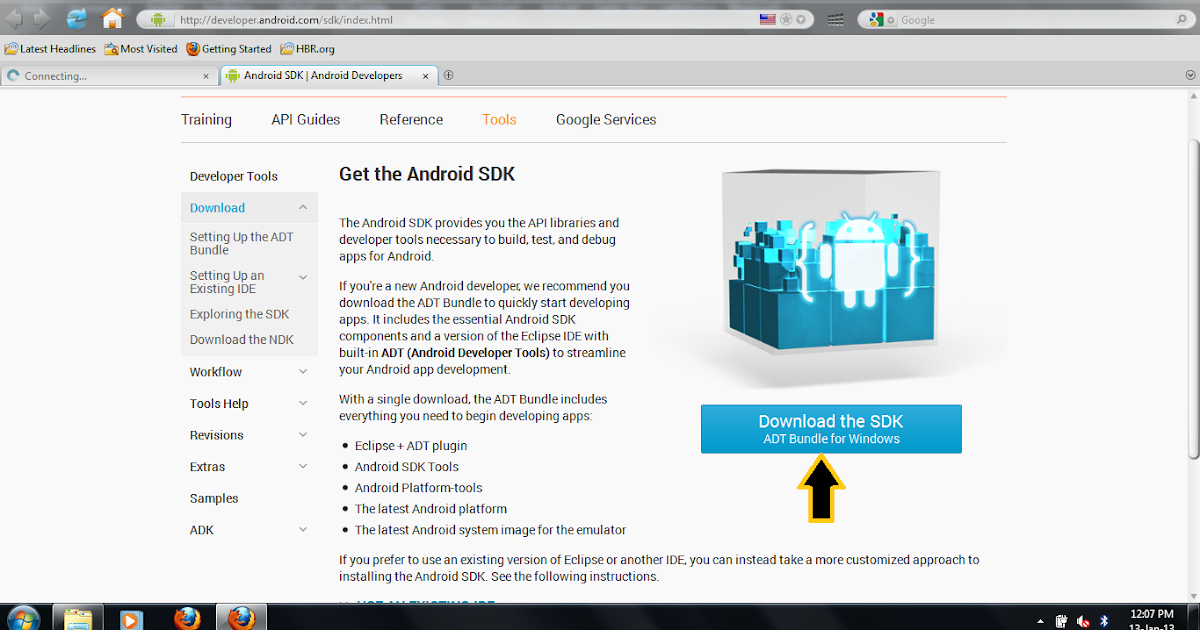 Android Development Helper: 1  How to download and Install