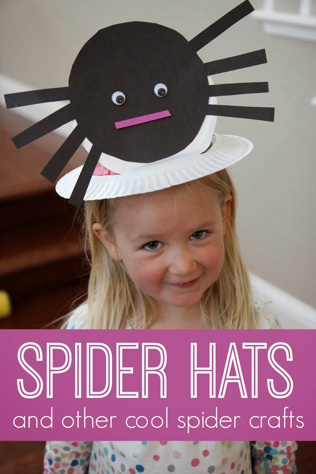 Toddler Approved Spider Hat And Other Cool Spider Crafts