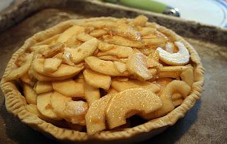 Pear Crumb Pie 6