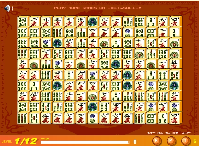 Mahjong Connect4