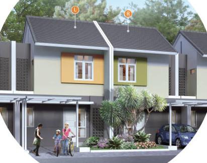 denah rumah minimalis ukuran 6x11 meter 2 kamar tidur 2