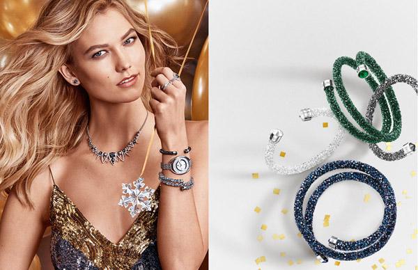 collar pulsera anillos pendientes Swarovski colección fiesta