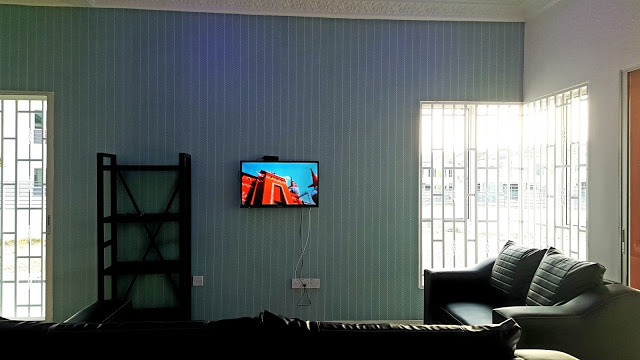 Ruang tamu Homestay di Seri Iskandar Perak