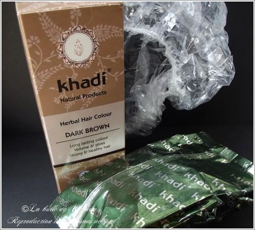 Coloration des Cheveux aux Herbes Khadi® - Brun Foncé, ecco verde