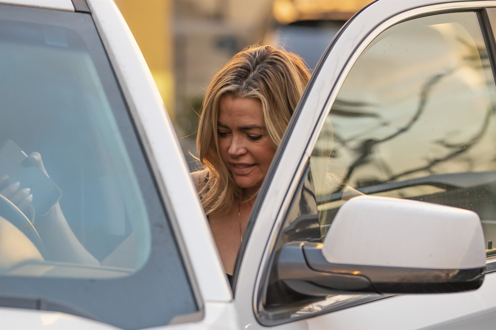 Denise Richards casual style - Out in Calabasas - 01/29/2019