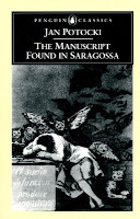 Cover of the Penguin Classics edition of The Manuscript Found in Saragossa, featuring the etching The Sleep of Reason Produces Monsters by Francisco Goya