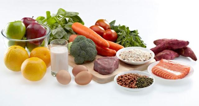 makanan peninggi badan, makanan alami peninggi badan
