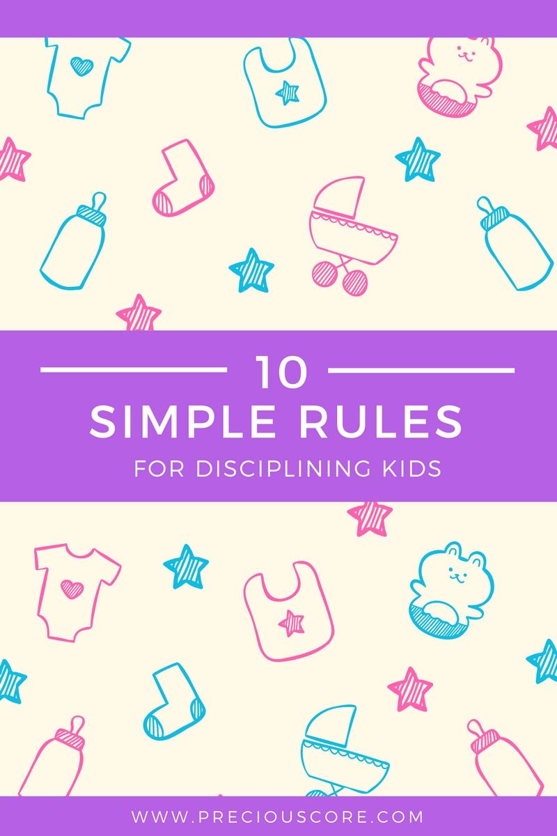 how to discipline kids