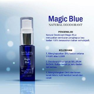 Magicblue - tampil yakin tanpa bau badan