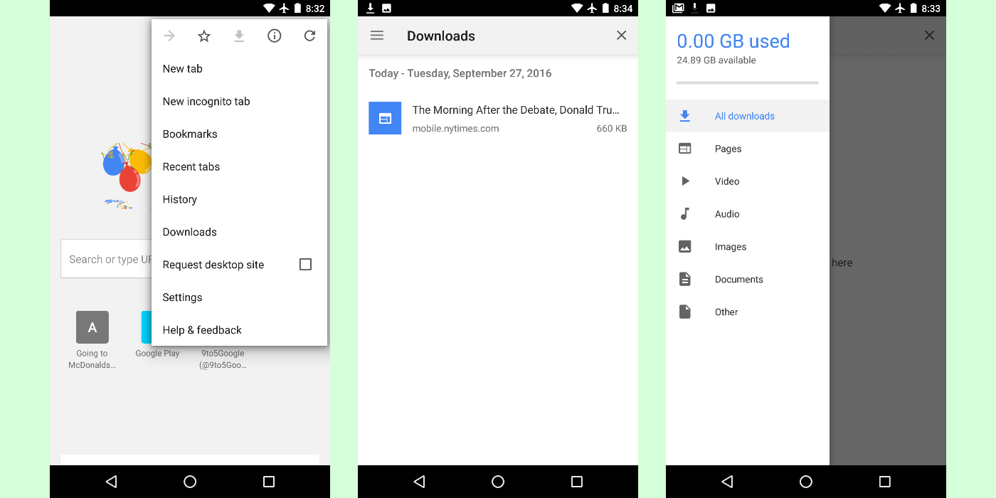 [APK] Chrome 55 for Android Brings New Offline Download Feature, Less Memory Usage And More