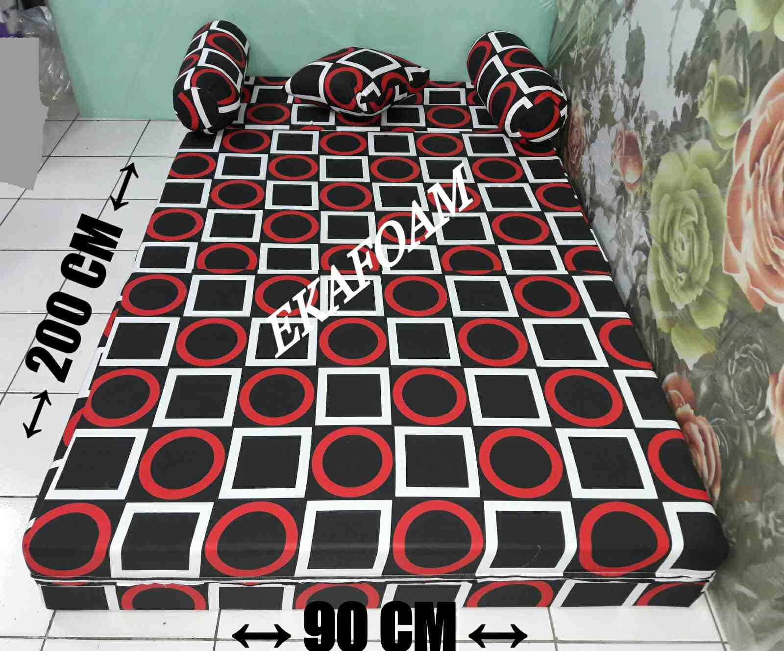 Harga Sofa Bed Inoac 2017 Sleeper Mattress Topper Kasur Terbaru Desember Agen Jual
