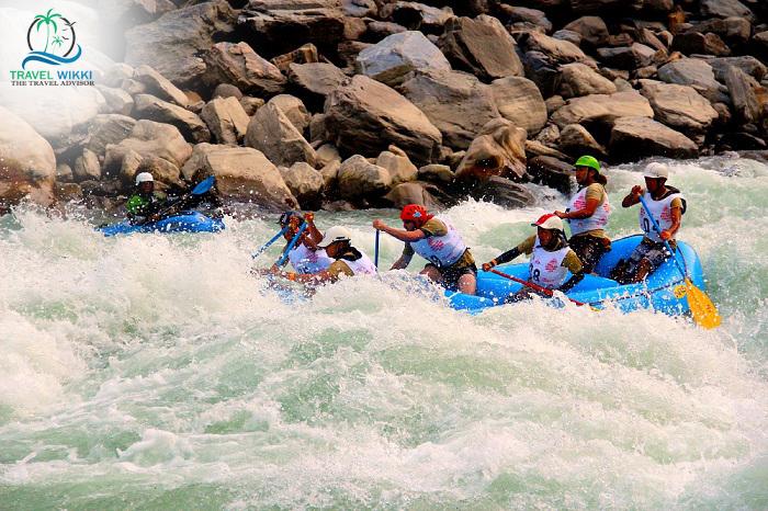 Rafting in Water