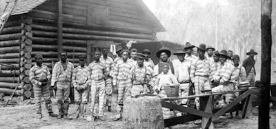 This horrifying, little-known story used blacks in brutal bondage up until WWII.  Every southern state leased convicts and at least nine-tenths of them were black.