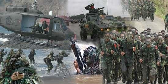 Rangking Tentara militer Indonesia