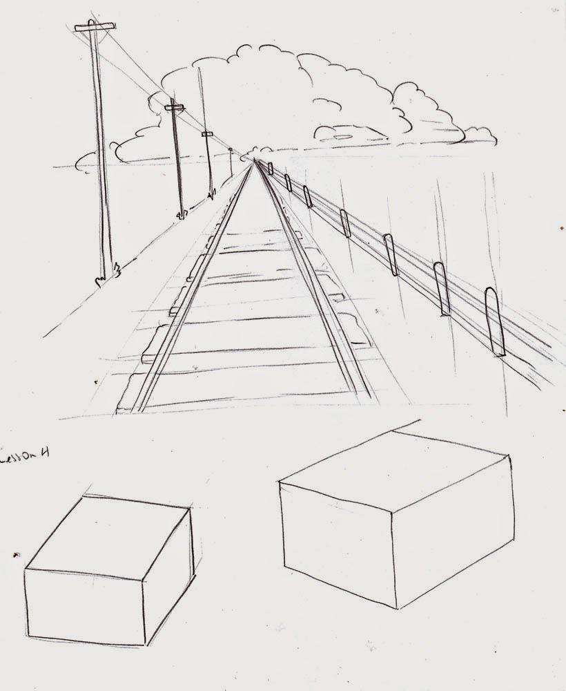 Weekly : Doodles and tuts: Drawing is easy, lesson 3