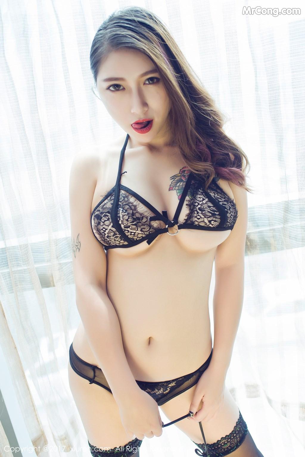Image XIUREN-No.812-Du-Hua-Hua-MrCong.com-007 in post XIUREN No.812: Người mẫu Du Hua Hua (杜花花) (48 ảnh)