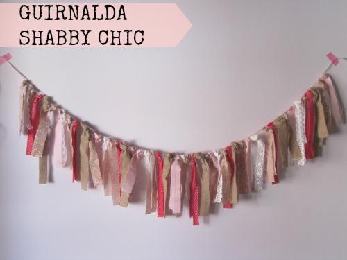 Presentación Guirnalda Shabby Chic