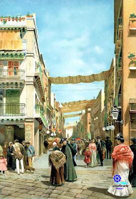 Sevilla - Calle Sierpes hacia 1905