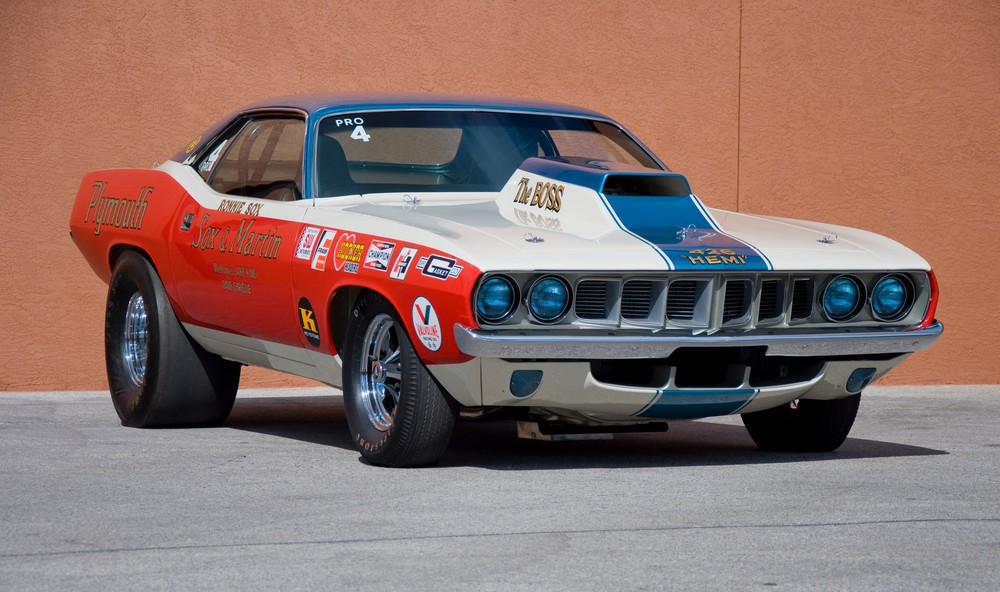 New Super Stock '68 HEMI Barracuda a Dream Come True For ... |Cuda Stock Car