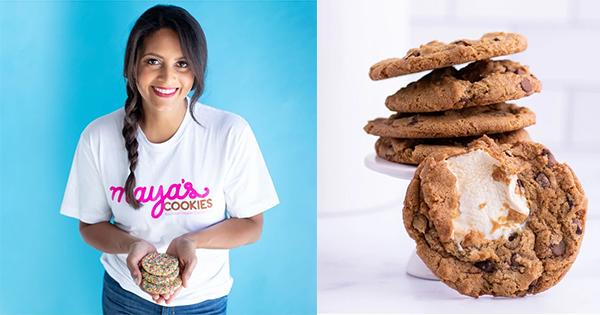 Maya Madsen, founder of Maya's Cookies