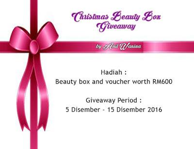 giveaway, christmas beauty box, beauty box