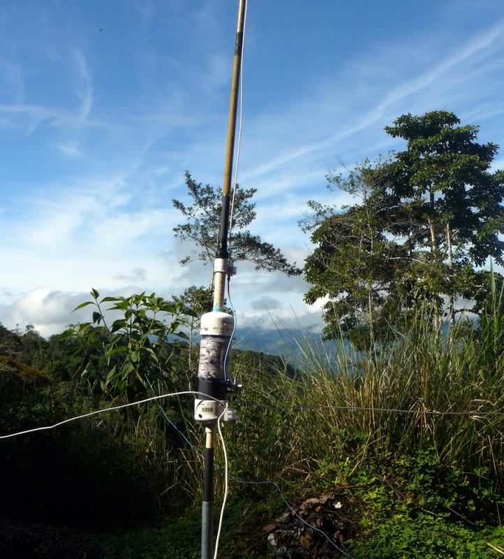 Cloud Warmer - DX Ham Radio in Costa Rica, projects, antennas, dx