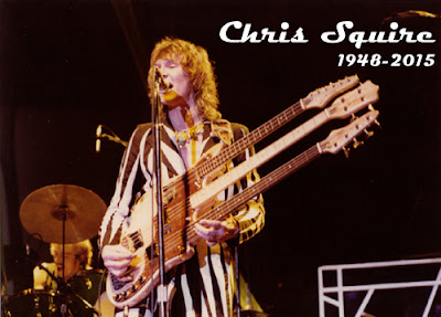 Chris Squire de Yes 1948-2015