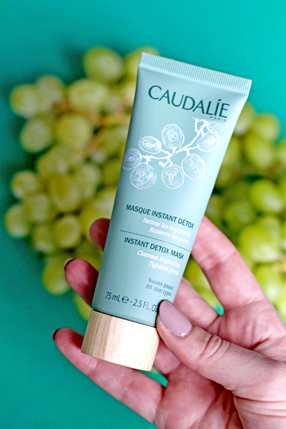 Caudalie Instant Detox Mask - UK beauty blog
