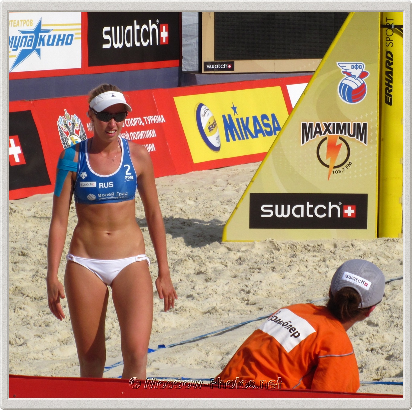 Beach Volleyball Player Evgenia Ukolova