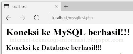 MySQL Test