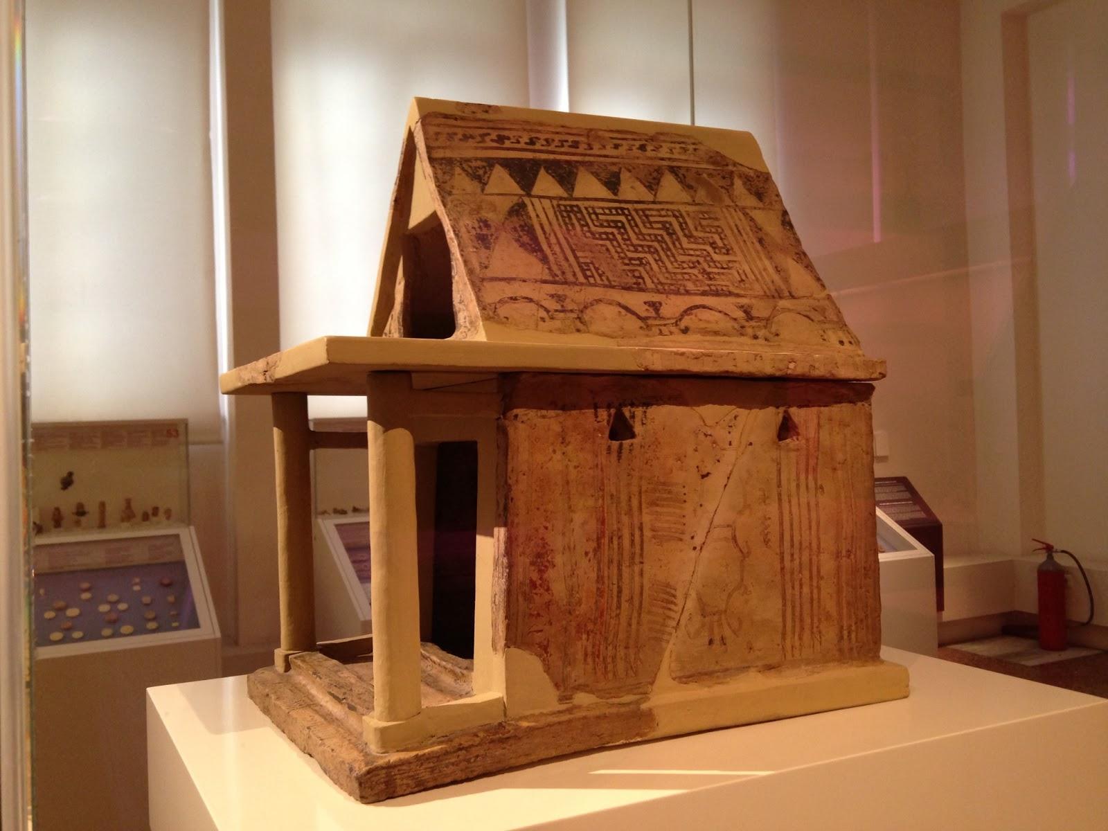 Tocho t8 maquetas de arquitectura de la grecia antigua Casas griegas antiguas