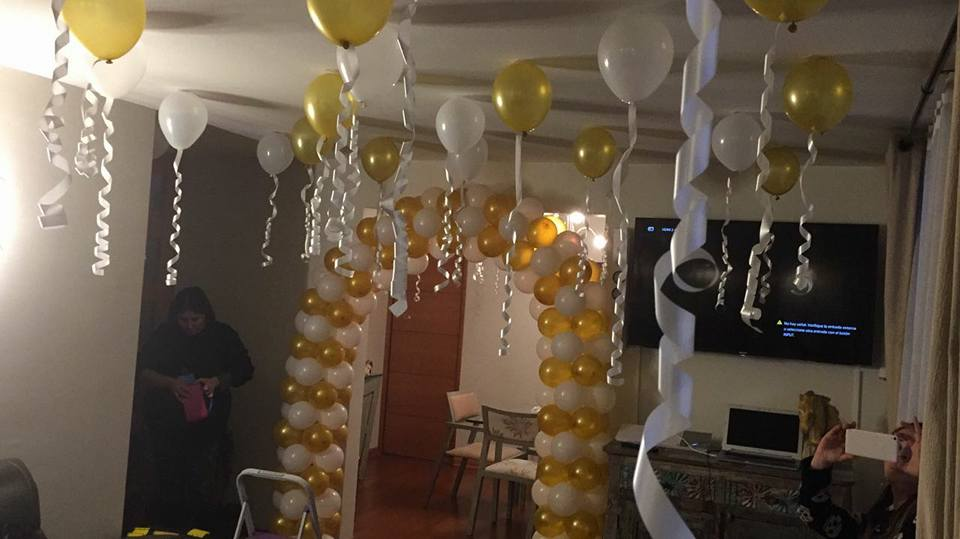 Eventos para tu beb decoraci n celebraci n 80 a os for Decoracion 80 anos ipuc