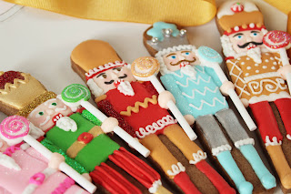 Galletas decoradas Cascanueces