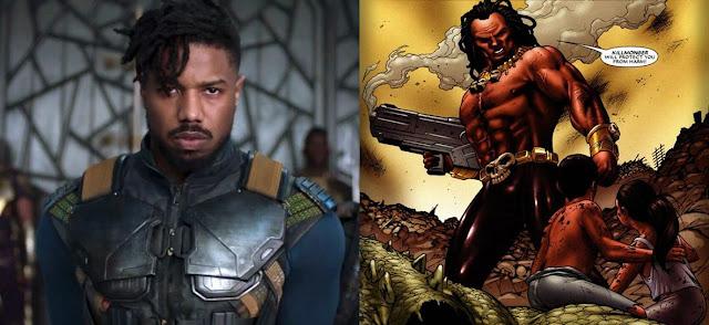Erik Killmonger, Musuh Black Panther di Film Solo Pertamanya