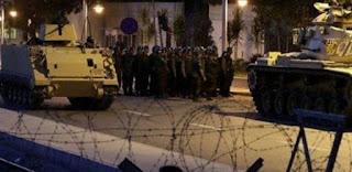 المسؤولون عن الانقلاب في تركيا