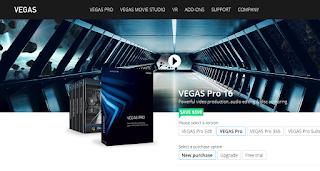 Vegas Pro 16-Aplikasi Edit Video