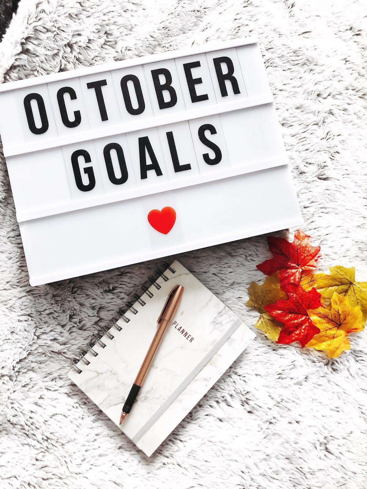 october, goals