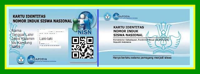 Download Aplikasi Cetak Kartu NISN Tampilan 2018
